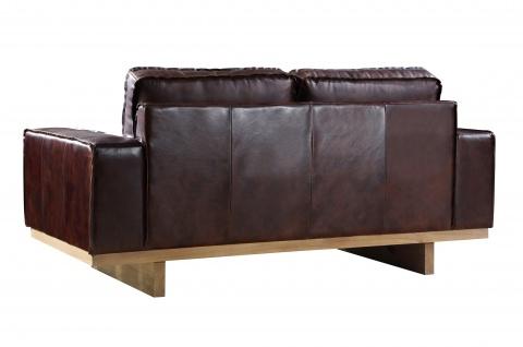 Loungesofa Hamilton 2-Sitzer Vintage-Leder - Vorschau 3