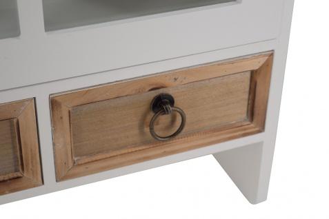 Wandregal Valenzia S Landhaus Regal Stil Küchenregal Holz Vintage Look weiß - Vorschau 3