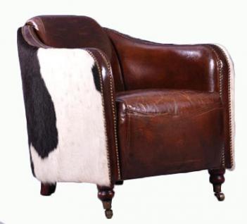 Clubsessel Dallas Vintage-Leder