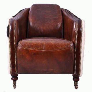 Clubsessel Dallas Vintage-Leder - Vorschau 2