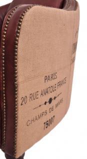 Clubsessel Dallas Eiffel Vintage-Leder - Vorschau 5