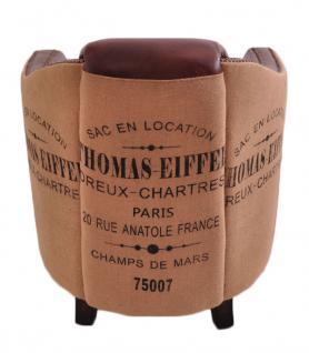 Clubsessel Dallas Eiffel Vintage-Leder - Vorschau 3