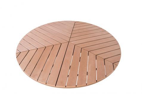 Gartentisch Sofia rund ca. 150 cm Durchmesser Dining Table Esstisch - Vorschau 3