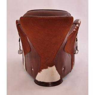 Designsessel Greenfield Vintage-Leder Kuhfell - Vorschau 3