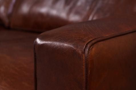 Loungesofa Durban 3-Sitzer Vintage-Leder - Vorschau 5