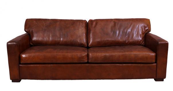Loungesofa Durban 3-Sitzer Vintage-Leder - Vorschau 2