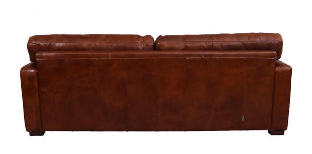 Loungesofa Durban 3-Sitzer Vintage-Leder - Vorschau 4
