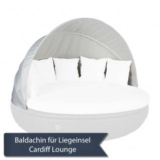 Baldachin / Sonnenverdeck für Cardiff Lounge Domus Ventures Liegeinsel