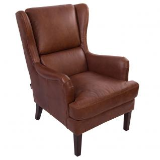 Loungesessel Dartford Montaigne Brown Ledersessel Sessel Echtleder Leder