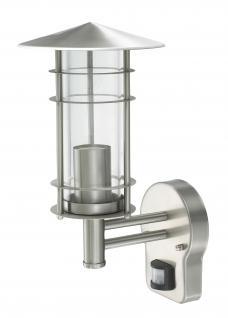 Wandlampe Außenleuchte Außenlampe Venus Bewegungsmelder Edelstahl IP44 LED geeignet Wandleuchte Lampe