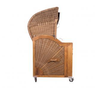 Strandkorb Kampen 2, 5-Sitzer Banana inkl. beidseitig angebrachter Schwenktische - Vorschau 3