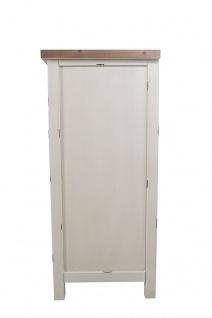 Kommode Bretagne XL 3 Türen Holz Vintage Look creme weiß - Vorschau 4