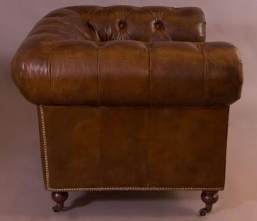 Clubsessel Chesterfield Vintage-Leder 2