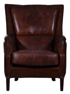 Lehnsessel Lewes Vintage Leder - Vorschau 4