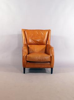 Lehnsessel Lewes Columbia Brown Vintage Leder - Vorschau 3
