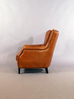 Lehnsessel Lewes Columbia Brown Vintage Leder - Vorschau 4
