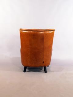 Lehnsessel Lewes Columbia Brown Vintage Leder - Vorschau 5