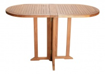 Teakholz Balkontisch Riva Klapptisch Gartenmöbel Teakmöbel Gartentisch Tisch Holztisch