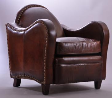 Clubsessel Vancouver Vintage-Leder