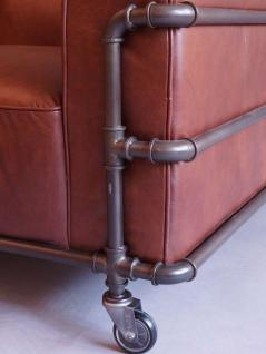 Wakefield Design Clubsofa Sofa 3-Sitzer Aluminium - Vorschau 4