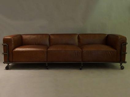 Wakefield Design Clubsofa Sofa 3-Sitzer Aluminium - Vorschau 2