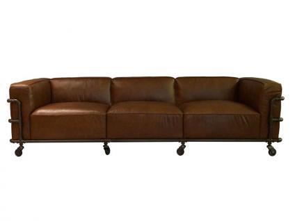 Wakefield Design Clubsofa Sofa 3-Sitzer Aluminium