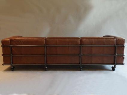 Wakefield Design Clubsofa Sofa 3-Sitzer Aluminium - Vorschau 3