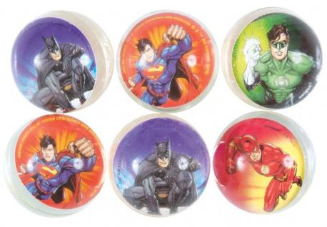 6 Justice League Flummis 5, 5 cm