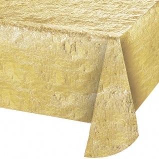 Tischdecke Gold Metallic