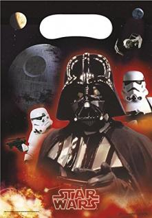 6 Party Tüten Star Wars Heroes