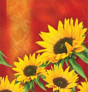 Plastik Tischdecke Sonnenblume