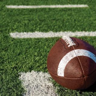 18 kleine Servietten American Football Superbowl Party