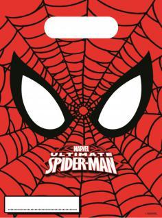 6 Party Tüten Spider-Man Ultimate Power