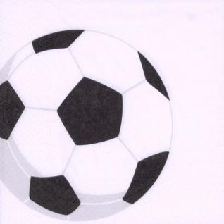 50 Fußball Servietten Soccer