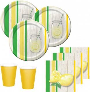 32 Teile Limonaden Party Deko Set Sommer Party 8 Personen