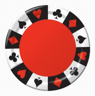 8 kleine Poker Party Teller
