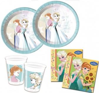 36 Teile Eiskönigin Party Fieber Party Set für 8 Kinder