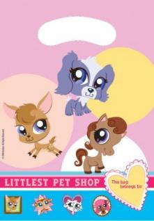 6 Littlest Pet Shop Mitgebsel Tüten