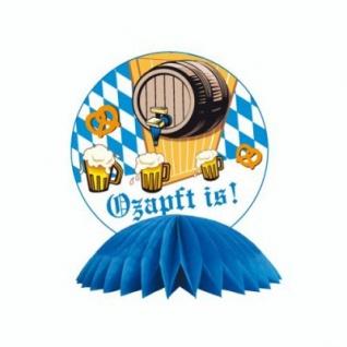 XXL 51 Teile Bavaria Party Deko Set Oktoberfest für 10 Personen - Vorschau 3
