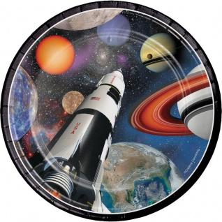 8 Teller Weltraum Mission