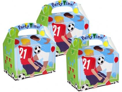 8 Fußball Geschenk Schachteln aus Karton