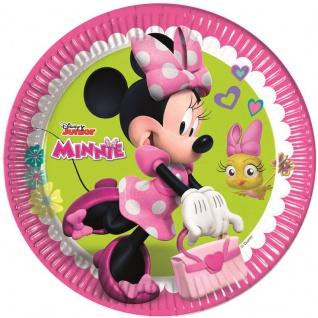 8 Papp Teller Minnie Happy in Pink