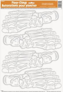 Boden Sticker Skelett