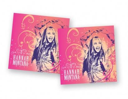 Servietten Hannah Montana