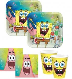 32 Teile Spongebob Party Deko Set