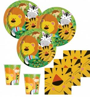 8 Party Tüten Kinder Safari - Vorschau 2