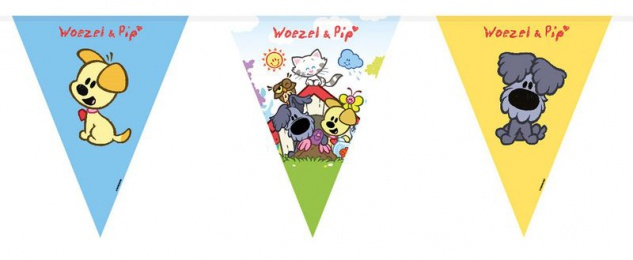 Wusel & Pip Wimpel Girlande 10 Meter