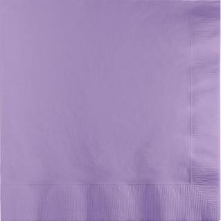 50 Servietten Lavendel 3-lagig
