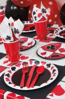 8 kleine Teller Las Vegas Casino Poker Party - Vorschau 2