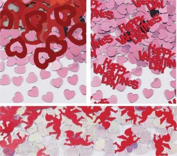 Valentinstag Konfetti 3er Pack Amor